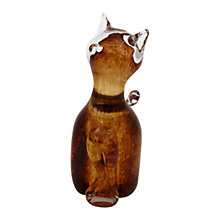 Buy Svaja Katie Kitten Ornament, Brown Online at johnlewis.com