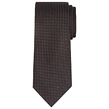Buy CK Calvin Klein Geo Woven Silk Tie Online at johnlewis.com