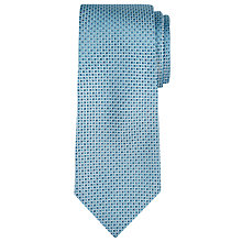 Buy CK Calvin Klein Woven Square Silk Tie, Aqua Online at johnlewis.com