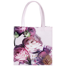 Buy Ted Baker Sunlit Floral Small Icon Bag, Pale Pink Online at johnlewis.com
