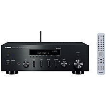 Buy Yamaha R-N602 Bluetooth, Wi-Fi, DLNA MusicCast Hi-Fi Receiver Online at johnlewis.com