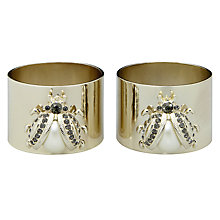 Buy Joanna Buchanan Lady Bird Napkin Rings, Set of 2 Online at johnlewis.com