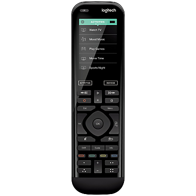Logitech Smart Home Harmony 950 Universal Remote Control With 2.4 Colour Touchscreen