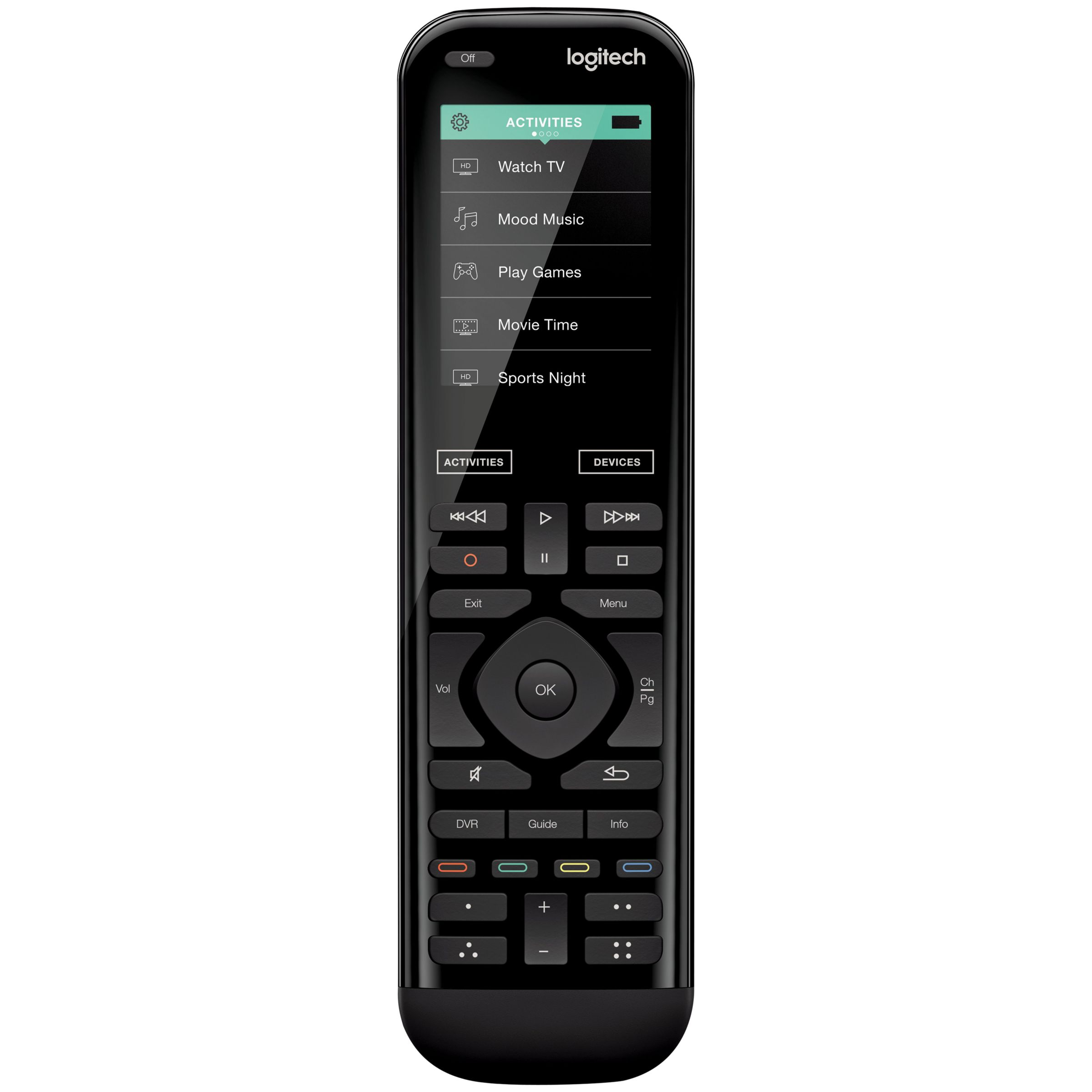 Logitech Logitech Smart Home Harmony 950 Universal Remote Control With 2.4 Colour Touchscreen