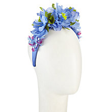 Buy John Lewis Maddie Flower Headband Fascinator Online at johnlewis.com