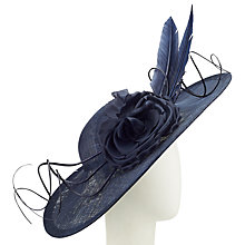 Buy Nigel Rayment Elen Disc and Flower Occasion Hat Online at johnlewis.com