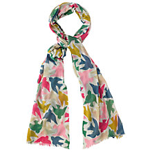 Buy Cath Kidston Graphic Birds Print Scarf, Multi Online at johnlewis.com