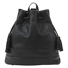 Buy Mint Velvet Mollie Backpack, Black Online at johnlewis.com