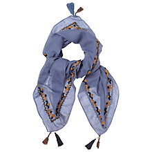 Buy White Stuff Stitch And Sew Scarf, Multi Online at johnlewis.com