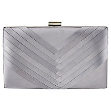 Buy Jacques Vert Pleated Bag, Dark Grey Online at johnlewis.com
