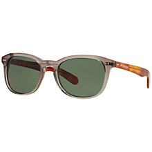 Buy Burberry BE4214 Square Sunglasses, Grey Online at johnlewis.com