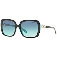 Buy Tiffany & Co TF4110B Square Sunglasses Online at johnlewis.com