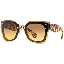 Buy Miu Miu MU04RS Square Full Frame Sunglasses Online at johnlewis.com