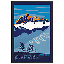 Buy Sassan Filsoof - Giro D'Italia Framed Print, 73 x 53cm Online at johnlewis.com