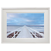 Buy Jacek Oleksinki - The Bridge Framed Print, 52 x 79cm Online at johnlewis.com