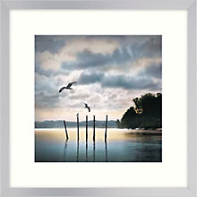 Buy William Vanscoy - Circling Skies Framed Print, 27 x 23cm Online at johnlewis.com
