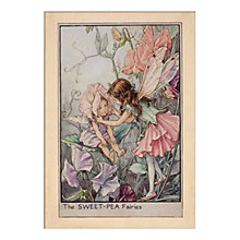 Buy Cicely Mary Barker - Sweet Pea Fairy, H40 x W30cm Online at johnlewis.com