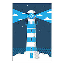 Buy Anthony Peters - Daylighthouse Unframed Print with Mount, 40 x 30cm Online at johnlewis.com