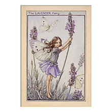 Buy Cicely Mary Barker - Lavender Fairy Unframed Print with Mount, 40 x 30cm Online at johnlewis.com