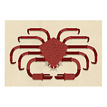 Buy Alan Dalby - Crab Unframed Print with Mount, 40 x 30cm Online at johnlewis.com