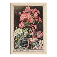Buy Cicely Mary Barker - The Phlox Fairy Unframed Print with Mount, 40 x 30cm Online at johnlewis.com