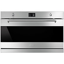 Buy Smeg SFP9395X Classic Built-In Multifunction Single Oven, Stainless Steel Online at johnlewis.com