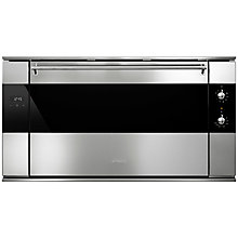 Buy Smeg SF9315XR Classic Built-In Electric Multifunction Single Oven, Stainless Steel Online at johnlewis.com