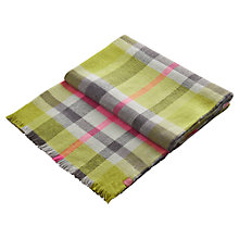 Buy Joules Tunstall Scarf, Olive Online at johnlewis.com