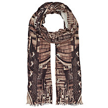 Buy Faye Et Fille Rome Print Scarf, Multi Online at johnlewis.com