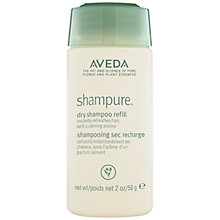 Buy AVEDA Shampure Dry Shampoo Refill, 60ml Online at johnlewis.com