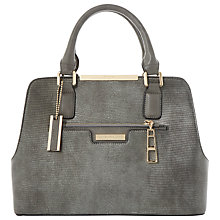 Buy Dune Domino Multi Compartment Grab Bag, Grey Online at johnlewis.com