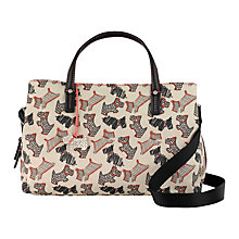 Buy Radley Fleet Steet Medium Multiway Bag, Ivory Online at johnlewis.com