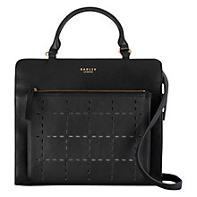 Buy Radley Clerkenwell Punch Medium Leather Multiway Bag Online at johnlewis.com