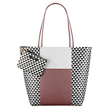 Buy Radley Jonathan Saunders Large Leather Tote, Multi Online at johnlewis.com