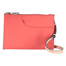 Buy Radley Pocket Essentials Medium Across Body Bag, Orange Online at johnlewis.com
