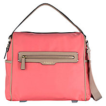 Buy Radley Mercer Street Large Multiway Bag, Orange Online at johnlewis.com