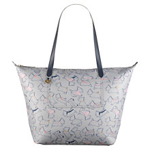 Buy Radley Pocket Essentials Large Zip-Top Tote Bag, Grey Online at johnlewis.com