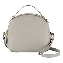 Buy Radley Bow Street Medium Leather Multiway Bag, Grey Online at johnlewis.com