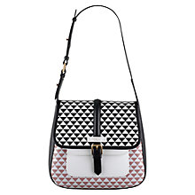 Buy Radley Jonathan Saunders Small Leather Shoulder Bag, Multi Online at johnlewis.com