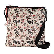 Buy Radley Fleet Street Small Across Body Bag, Ivory Online at johnlewis.com