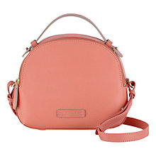 Buy Radley Bow Street Medium Leather Multiway Bag, Orange Online at johnlewis.com
