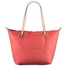 Buy Radley Pocket Essentials Large Zip-Top Tote Bag, Orange Online at johnlewis.com