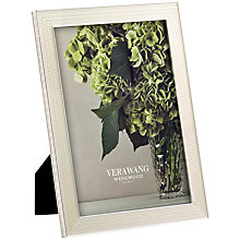 "Buy Vera Wang for Wedgwood With Love Pearl Frame, 5 x 7"" Online at johnlewis.com"