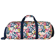 Buy Cath Kidston Daisy Bed Large Foldaway Barrel Bag, Navy Online at johnlewis.com