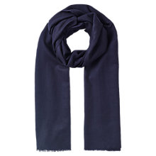 Buy East Large Wool Shawl, Blue Online at johnlewis.com