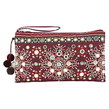 Buy East Serina Mirror Clutch Bag Online at johnlewis.com