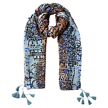 Buy East Halina Print Scarf, Multi Online at johnlewis.com