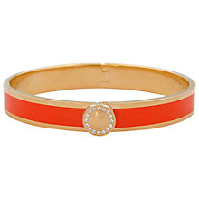 Buy Halcyon Days Sparkle Button Bangle Online at johnlewis.com