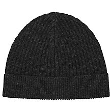 Buy Reiss Noah Knitted Beanie, One Size Online at johnlewis.com