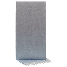 Buy Reiss Lambswool Cashmere Scarf, Grey Online at johnlewis.com